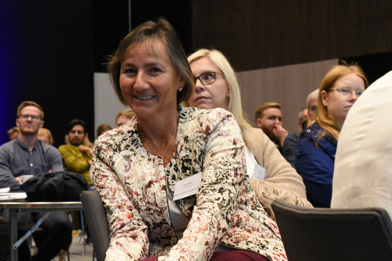 Foto på Klimatilpasningsdagene 2019 Inger Anita Merkesdal, frilansjournalist Stavanger